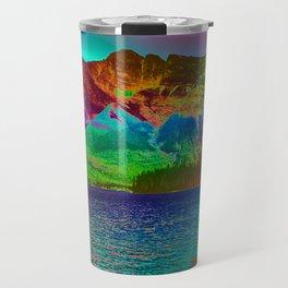 Rainbow Mountains Travel Mug