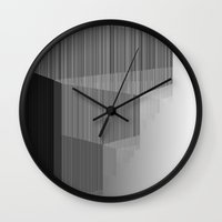pivot Wall Clocks featuring R Experiment 6 (quicksort v4) by X's gallery