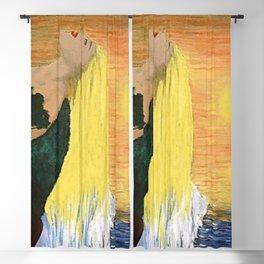 Golden River Beauty Blackout Curtain