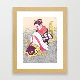 Harunobu Framed Art Print