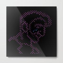 Neon Tears (Colby) Metal Print