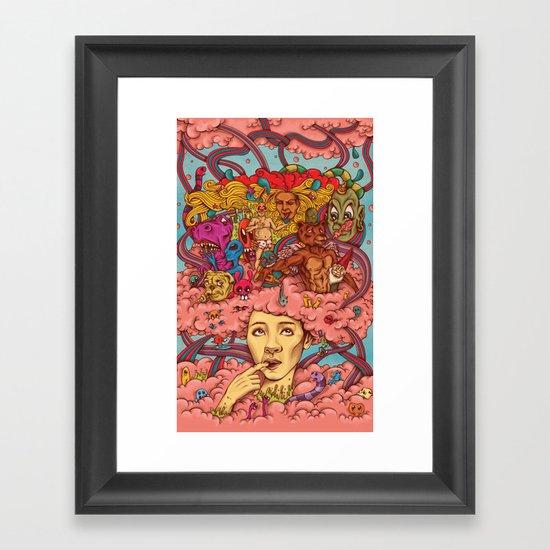 Frivolous Framed Art Print