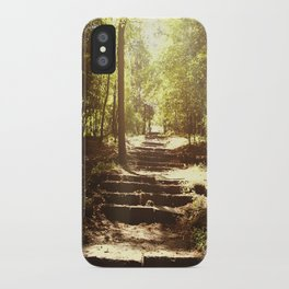 Up the Down Stairs iPhone Case