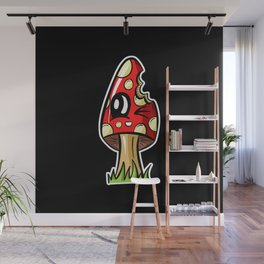 Magic Mushroom - Take a Bite Wall Mural