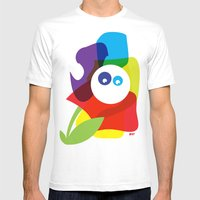 What? Mens Fitted Tee White MEDIUM