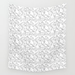 Gem Outlines Wall Tapestry