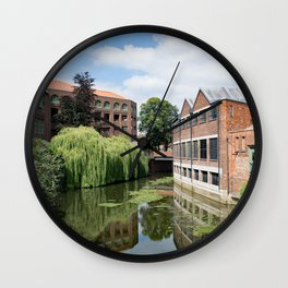 River Foss York Wall Clock