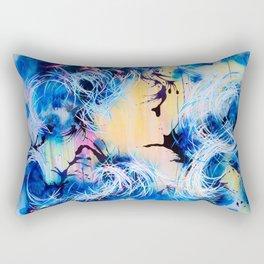 Falling Towards The Sky Rectangular Pillow