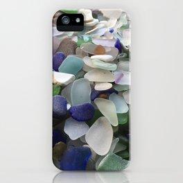 Sea Glass Assortment 5 iPhone Case