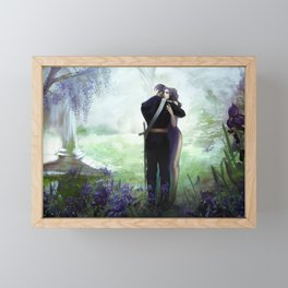 In your arms Framed Mini Art Print