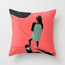 S. K. 01 Throw Pillow