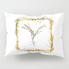 "Seaweed Alphabet ""Y"" Pillow Sham"