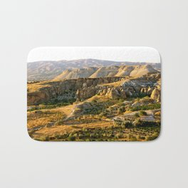 Mountains in the Red Valley of Cappadocia, Turkey Bath Mat