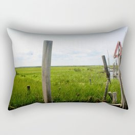 Crabbers Rectangular Pillow