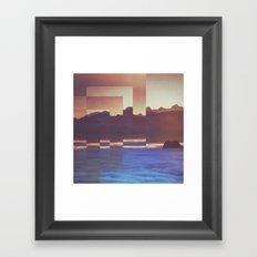 Fractions A53 Framed Art Print