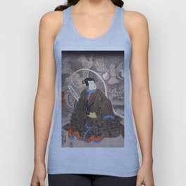Apparition of the Monstrous Cat Unisex Tank Top