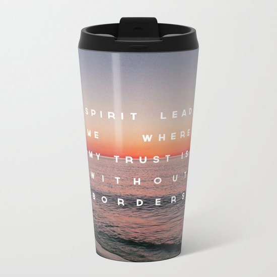 Spirit Lead Me Metal Travel Mug