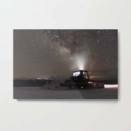 Milky Way chasing Metal Print