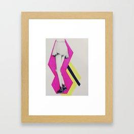 Pop Art Skirt Framed Art Print