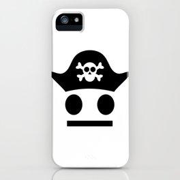 Pirate Serious Pirate Be Careful iPhone Case