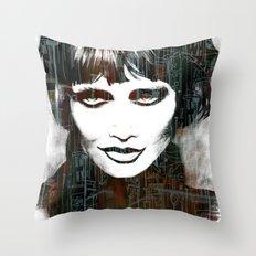 Smokey Throw Pillow