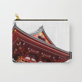 Temple Detail Carry-All Pouch