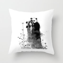 Lonely, Lonely... Throw Pillow