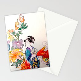 Neo-Traditional Japanese Stationery Cards