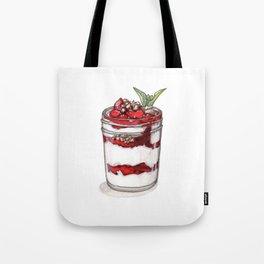 Desserts: Yogurt Parfait Tote Bag