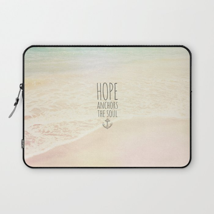 HOPE ANCHORS THE SOUL  Laptop Sleeve