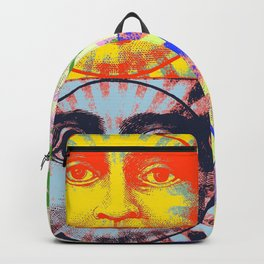Faces of The Sun & Moon Backpack
