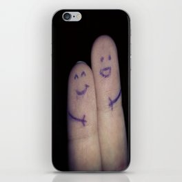 Finger friend  iPhone Skin