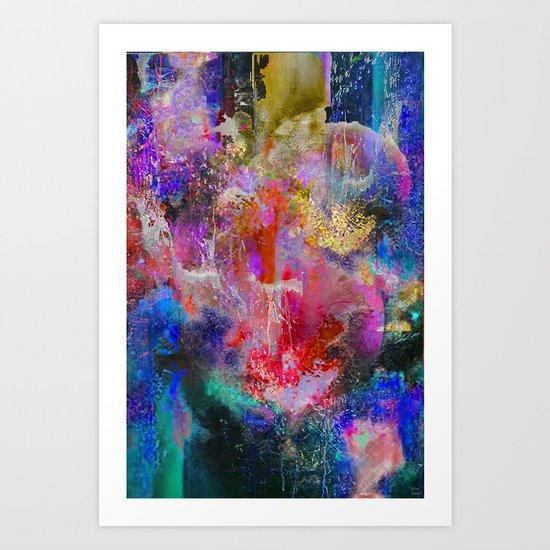 Faire abstraction 5 Art Print