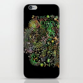 DoodleLand Two...Over the Rainbow iPhone Skin