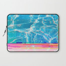 Water Glitch Laptop Sleeve