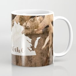 Virginia is Home - Camo Coffee Mug