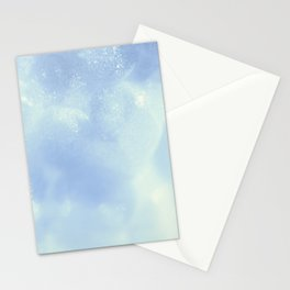 White Foam Plastic Texture Stationery Cards