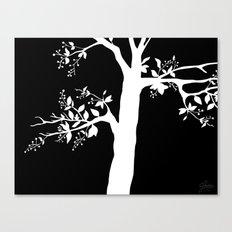 Chokecherry Tree Canvas Print