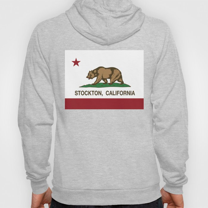 Stockton California Republic Flag Hoody