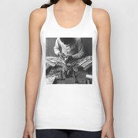 shoe Tank Tops featuring Shoe Maker by Asia Fuse Dirty Tease