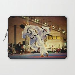 Traditional sparring - Taekwon-do ITF Laptop Sleeve