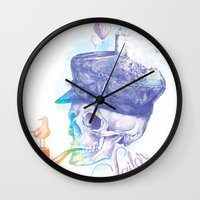 sailor Wall Clocks featuring Sailor by dogooder