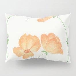 Butterscotch Roses Pillow Sham