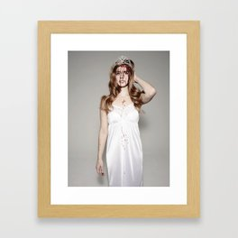 Beauty Queen Of Disaster * Framed Art Print