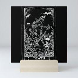 Death Card Mini Art Print