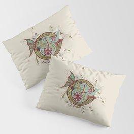 Celtic Initial C Pillow Sham