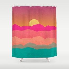 Minimal Landscape 13 Shower Curtain