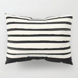 Black x Stripes Pillow Sham