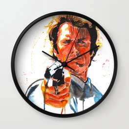 Dirty Harry Wall Clock