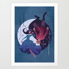 The Cleansing Art Print